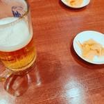 京華小吃 - ビールのつまみに搾菜