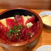 菊すし - 料理写真:漬け丼(写真に映っていないけれど、お味噌汁もついてます)