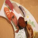 ささき - 料理写真:握り七貫