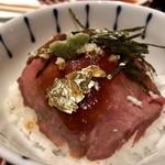 100218890 - 牛タンのローストビーフ丼