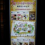 東京ミートレア 李さんの台湾名物屋台 - ミートレア内地図