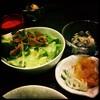 キリンジ - 料理写真:サラダ。漬物。ポテトサラダ。