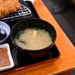 いな穂 - 味噌汁