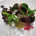 100221968 - 【前菜】鯖 根セロリ 菊芋