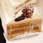 パティスリー・デリス - チョコケーキ 380円