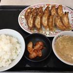餃子の王将 - 伝説の餃子定食¥730(税別)