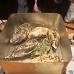 仙台旬風 冨和利 - 牡蠣のカンカン焼き