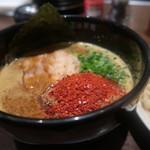 EIKOKU SHORYU - カレー豚骨つけ麺