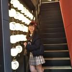 名古屋もつ焼き ひとすじ - ひとすじ提灯が目印入口 ★デートや接待に女子会やママ会、各種ご宴会に 仲間内の飲み会や新年会など宴会に最適な空間となっております
