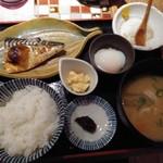 ハナレノミカジノバ - 焼き魚定食800円