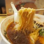 河むら - チャーシューワンタンメン(麺)