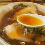 河むら - チャーシューワンタンメン(醤油スープ)