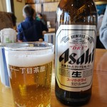 十一丁目茶屋 - 瓶ビール(小)2019.1.14