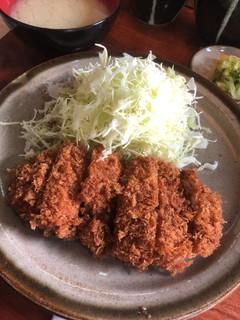 銀座 井泉 - 限定10食 チキンカツ定食 980円