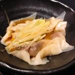 横濱深夜食堂 - 蕎麦屋のネギワンタン(500円)(税込)
