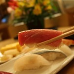 おひげ寿司 - 中とろ