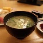 おひげ寿司 - お味噌汁