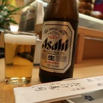 おひげ寿司 - 中瓶