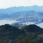 絶景レストラン うずの丘 - 大鳴門橋