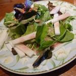 レストラン セージ - ランチタイムのサラダ