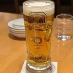 中国酒家 朝陽閣 - ほろ酔いセットのビール