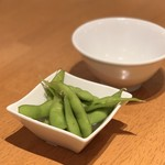 中国酒家 朝陽閣 - 付き出氏の枝豆