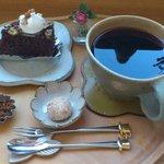 10025656 - つぼみとチョコバナナおから入りケーキ