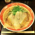 10025906 - 背脂醤油ラーメン(並) ¥700.-