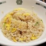 日高屋 - チゲ味噌ラーメン+半炒飯(850円)