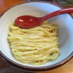 麺屋 高橋 - 麺のアップ