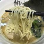 帆のる - 細麺