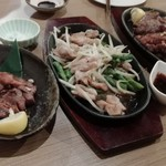 (肉)炭火酒場 力虎 -