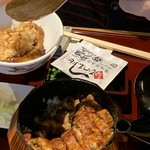 shirakawabetteinihonryourioomori - 写真を撮り忘れたので食べてる途中でスミマセン