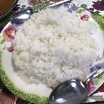 イヤマンレストラン - ライスはジャポニカ米