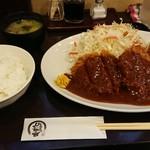 100255689 - 特選ヒレとんかつ&クリームコロッケ定食