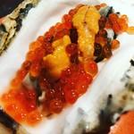 立飲みビールボーイ - 【気まぐれ料理】ウニ、イクラ、生牡蠣の『宝箱』