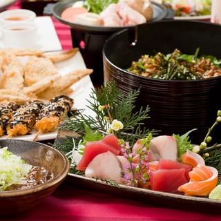 こだわりの市場直送の鮮魚・定番の名古屋めしをお楽しみ下さい!