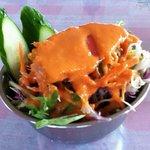 Tajimaharueberesuto - 日替りランチ、サラダ