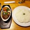 北18条 クロック プラス ジー - 料理写真:温野菜とビーフカレー