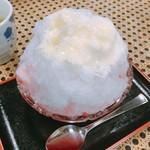 初音茶屋 - 氷イチゴミルク  450円