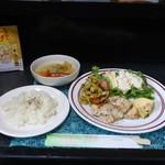 カフェバル リバーサイド - ランチセット(チキンソテー)