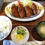 レストラン高山 - 料理写真:とんヒレカツ定食1200円