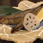 京の家庭料理 おばんざいの店 明り - 北海道産のししゃも