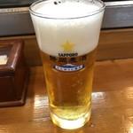 大漁 やまちゃん - ドリンク写真:生ビール