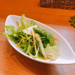 Soba Ristorante na-ru - ランチセットのサラダ