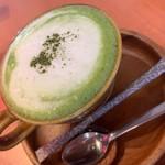 クラフトカフェ - 抹茶ラテ