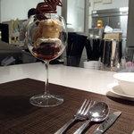 PARADIS - キャラメルとチョコレートのパフェ