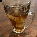 Torico meat - ドリンク写真:ウーロン茶おかわり自由。