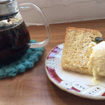 BAGEL CAFE SORARIN - ランチにプラスしたデザートとドリンク