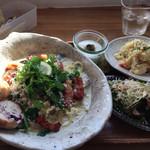 BAGEL CAFE SORARIN - 料理写真:日替わりパスタランチ